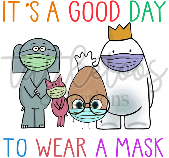 IT'S A GOOD DAY TO WEAR A MASK TF1