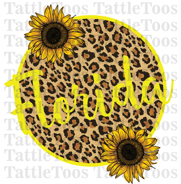LEOPARDSUNFLOWERCIRCLE FLORIDA