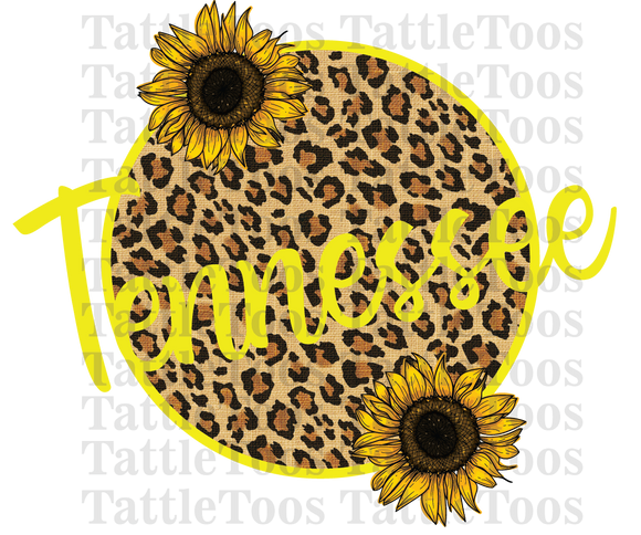 LEOPARDSUNFLOWERCIRCLE TENNESSEE