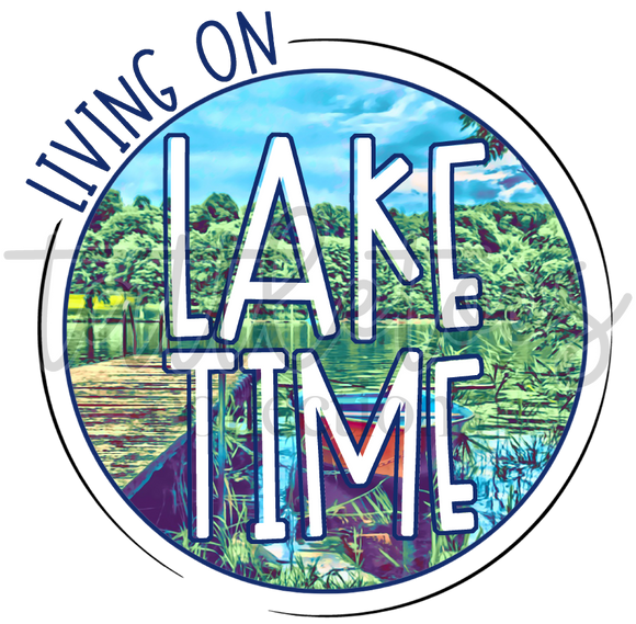 LIVING ON LAKE TIME TF1