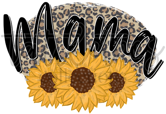 MAMA LEOPARD SUNFLOWER TF1