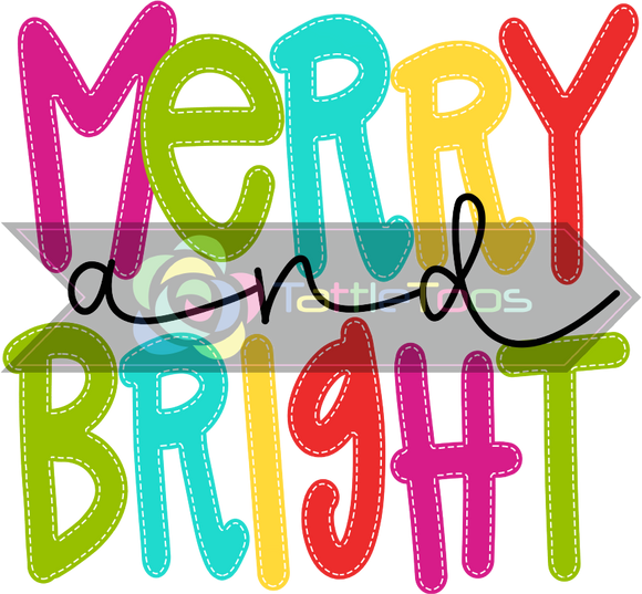 MERRYANDBRIGHT COLORFUL