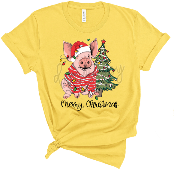 CHRISTMAS PIG WITH CHRISTMAS TREE TF1