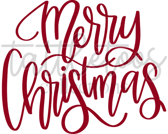 MERRY CHRISTMAS RED SCRIPT - FAD1