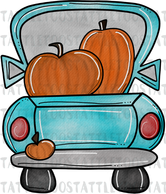 PUMPKINTRUCKTF BLUE