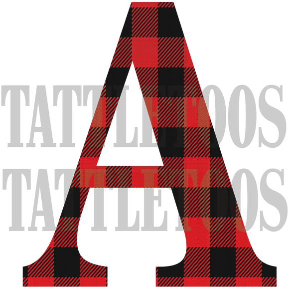 BUFFALO PLAID A (DIGITAL PNG)