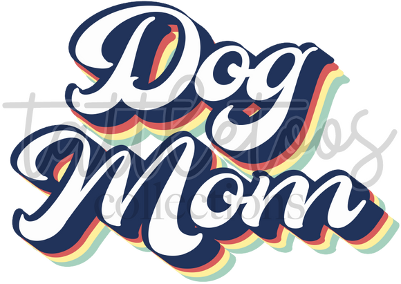RETRO DOG MOM TF1