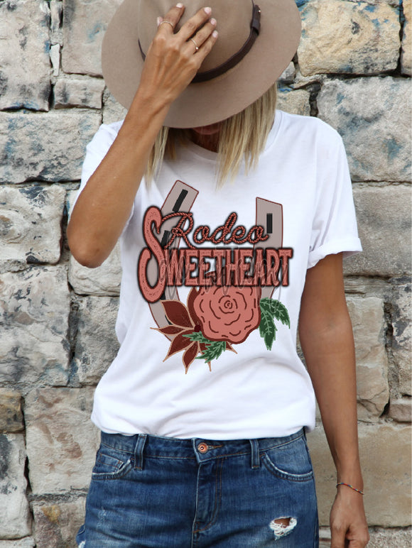 RODEO SWEETHEART HORSESHOE CCC1