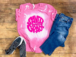 SAVED BY GRACE HOT PINK HF1