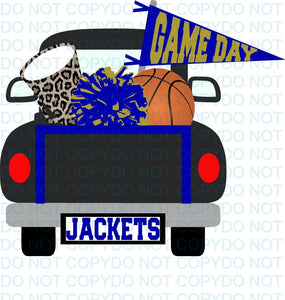 SPIRITBASKETBALLTRUCKTF BLACK AND GOLD