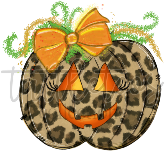 SUPER CUTE LEOPARD PUMPKIN RL1