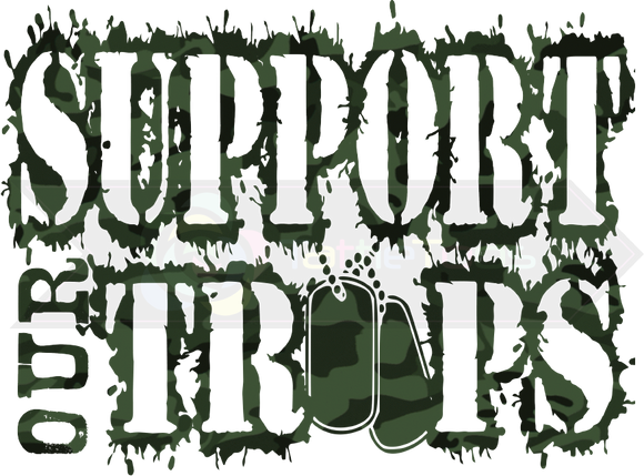 SUPPORT OUR TROOPS CAMO TF 1