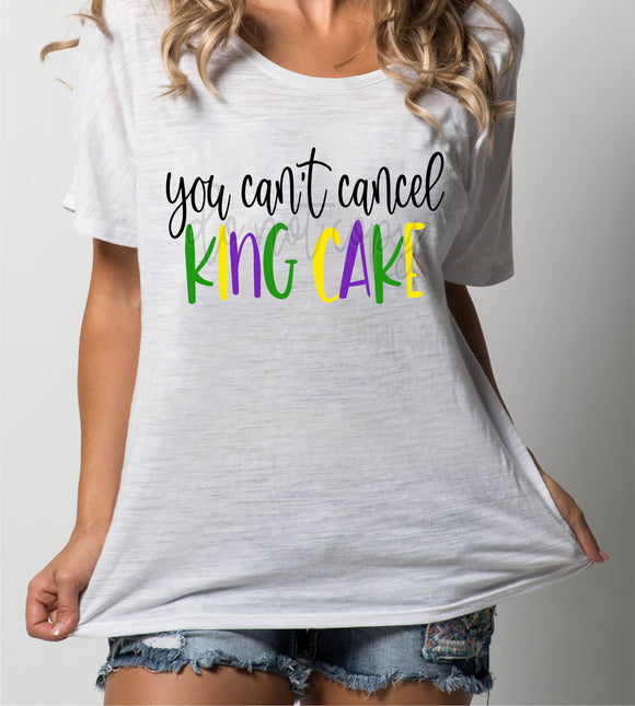 YOU CAN'T CANCEL KING CAKE TT1