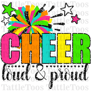 COLORFULCHEER LOUD AND PROUD