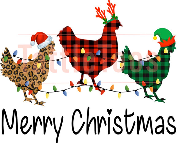 CHRISTMAS CHICKENS TF1
