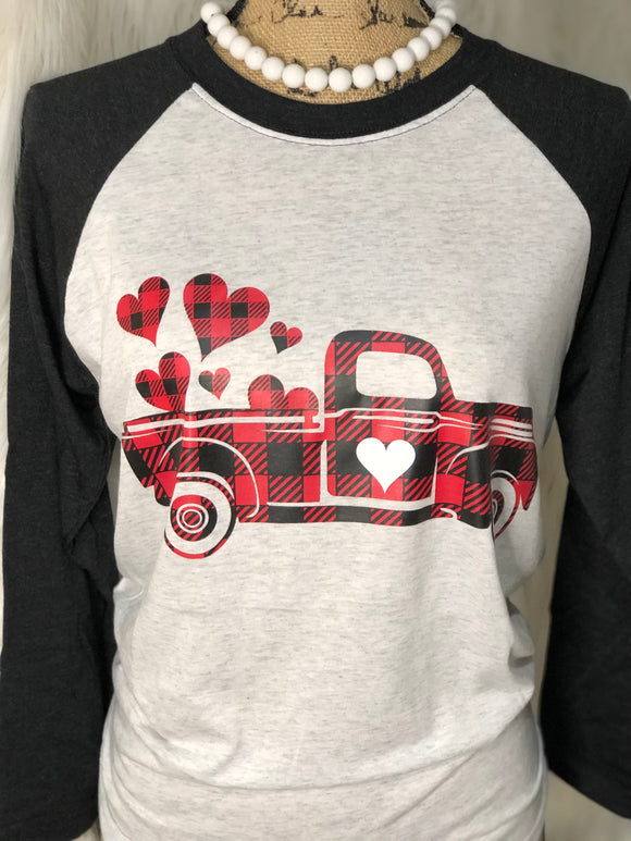 BUFFALO PLAID - VALENTINE TRUCK