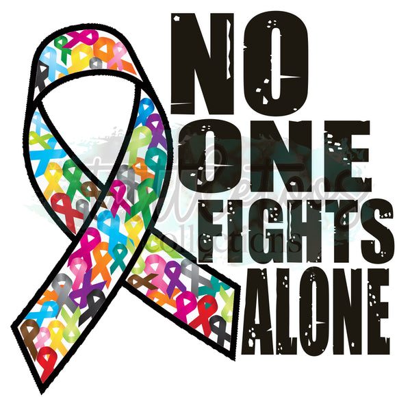 NO ONE FIGHTS ALONE - ALL COLORS GSG 1