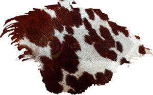 BROWN & WHITE COW HIDE SPLASH BACKGROUND 1