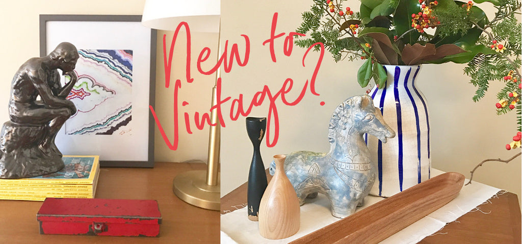 How To Start Using Vintage In Your Home