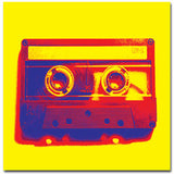 80's Cassette - Kandibox Canvas Art Prints and Designer Home Interiors