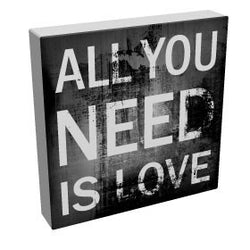 All You Need is Love - Kandibox Canvas Art Prints and Designer Home Interiors