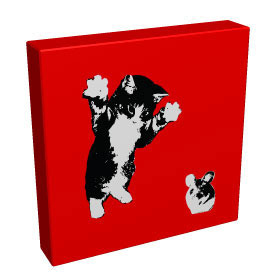 Boo! - Kandibox Canvas Art Prints and Designer Home Interiors