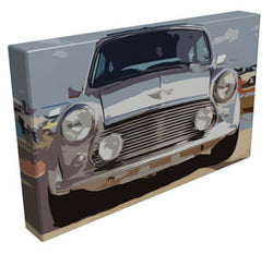 Classic Mini Cooper - Kandibox Canvas Art Prints and Designer Home Interiors