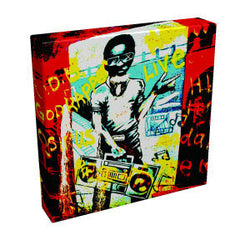 Graffiti Boy I - Kandibox Canvas Art Prints and Designer Home Interiors
