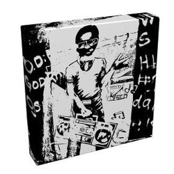 Graffiti Boy II - Kandibox Canvas Art Prints and Designer Home Interiors