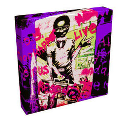 Graffiti Boy III - Kandibox Canvas Art Prints and Designer Home Interiors