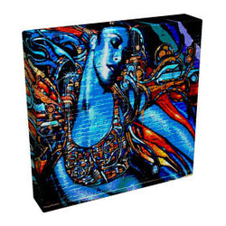 Graffiti Girl - Kandibox Canvas Art Prints and Designer Home Interiors