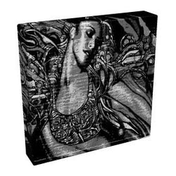 Graffiti Girl II - Kandibox Canvas Art Prints and Designer Home Interiors