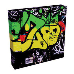 Graffiti Skull I - Kandibox Canvas Art Prints and Designer Home Interiors