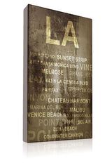 LA LA Land - Kandibox Canvas Art Prints and Designer Home Interiors