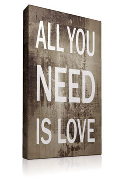 All You Need is Love II - Kandibox Canvas Art Prints and Designer Home Interiors