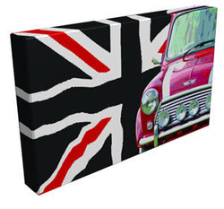Mini Adventure Union Jack - Kandibox Canvas Art Prints and Designer Home Interiors