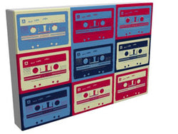 Pop Art - Mix Tape I - Kandibox Canvas Art Prints and Designer Home Interiors