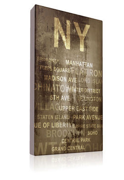 The Big Apple - Kandibox Canvas Art Prints and Designer Home Interiors