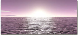 Purple Sea - Kandibox Canvas Art Prints and Designer Home Interiors