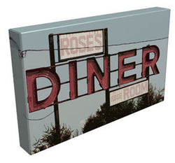 Rose's Diner - Kandibox Canvas Art Prints and Designer Home Interiors