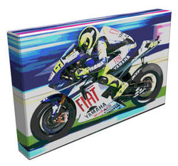 Rossi Racer - Kandibox Canvas Art Prints and Designer Home Interiors