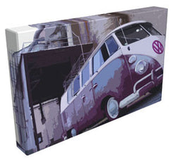 Rusty - VW Camper - Kandibox Canvas Art Prints and Designer Home Interiors