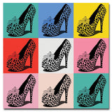 Tiger Heels I - Kandibox Canvas Art Prints and Designer Home Interiors