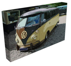 V-Lo - Bagged VW Splitty - Kandibox Canvas Art Prints and Designer Home Interiors