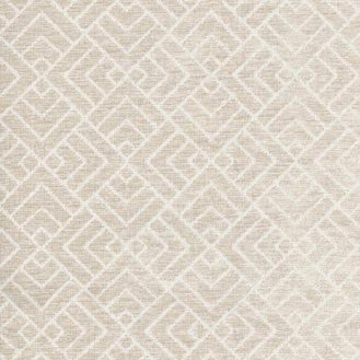 120225 Tambal Lattice Linen Pk Lifestyles Fabric - charlestonfabrics.com