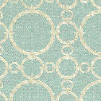 652661 Connected Aquamarine Pk Lifestyles Fabric - charlestonfabrics.com