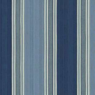 Williamsburg Spotswood Stripe Porcelain Prints Fabric - charlestonfabrics.com