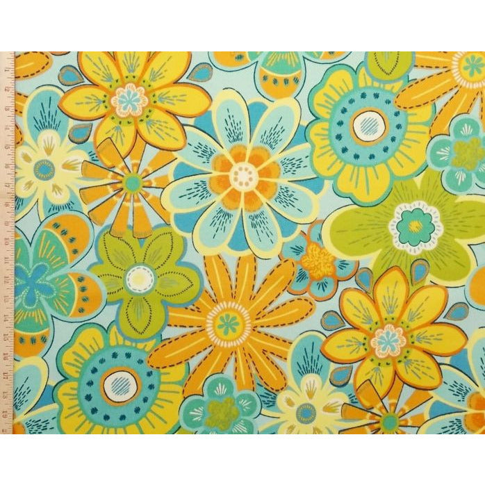 Swavelle Mill Creek Glynis/Fresco Celestial Outdoor Fabric - charlestonfabrics.com