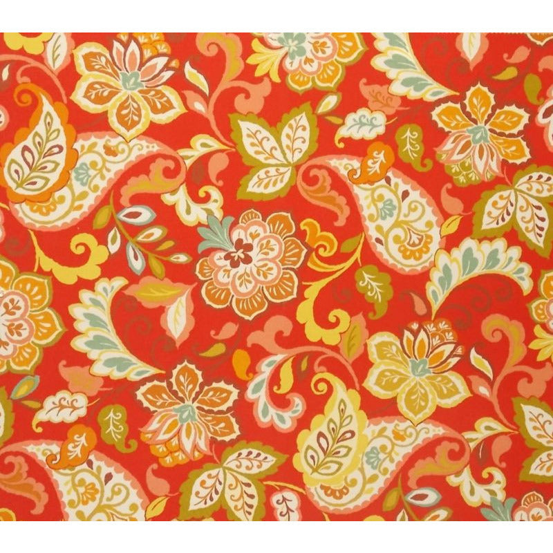 Swavelle Mill Creek Sabry/Fresco Sangria Outdoor Fabric - charlestonfabrics.com