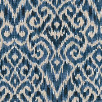 750573 Thompson Ikat Ink Pk Lifestyles Fabric - charlestonfabrics.com
